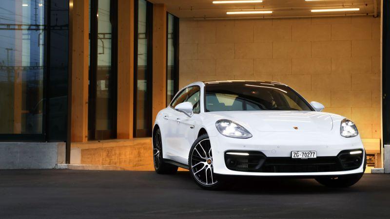 Porsche Panamera 4S E-Hybrid Sport Turismo, 2020, 5K, Wallpaper