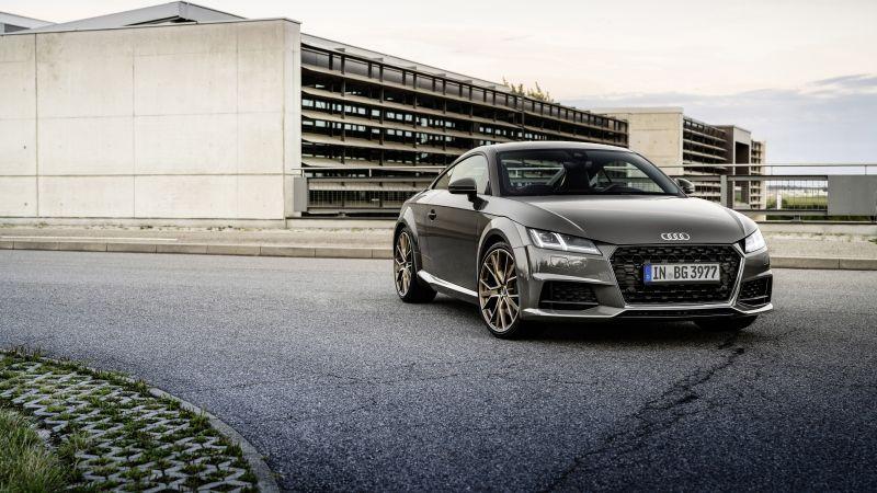 Audi TT Coupé bronze selection, 2021, 5K, 8K, Wallpaper