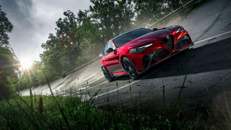 Alfa Romeo Giulia GTAm, Performance Sedan, Super saloon, 2021, 5K, 8K, Wallpaper
