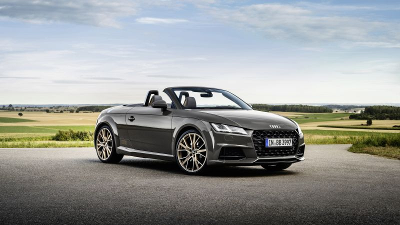 Audi TT Roadster bronze selection, 2021, 5K, 8K, Wallpaper