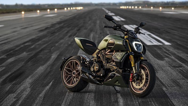 Ducati Diavel 1260 Lamborghini, 2021, 5K, Wallpaper