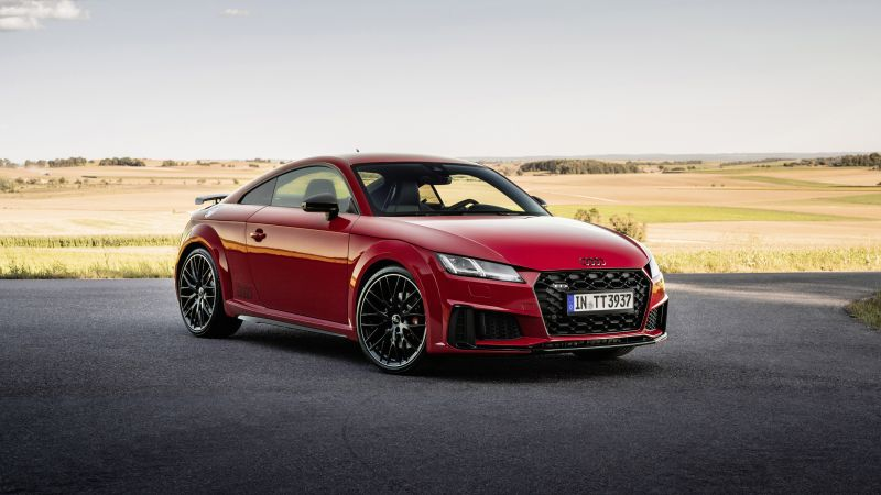 Audi TTS competition plus Coupé, 2021, 5K, 8K, Wallpaper