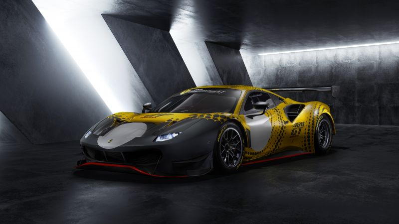 Ferrari 488 GT Modificata, Supercars, 2021, 5K, 8K, Wallpaper