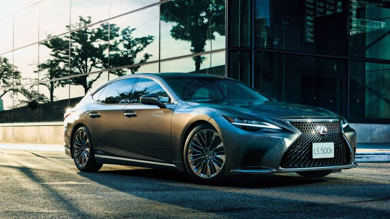 Lexus LS 500h, 2021, 5K, Wallpaper