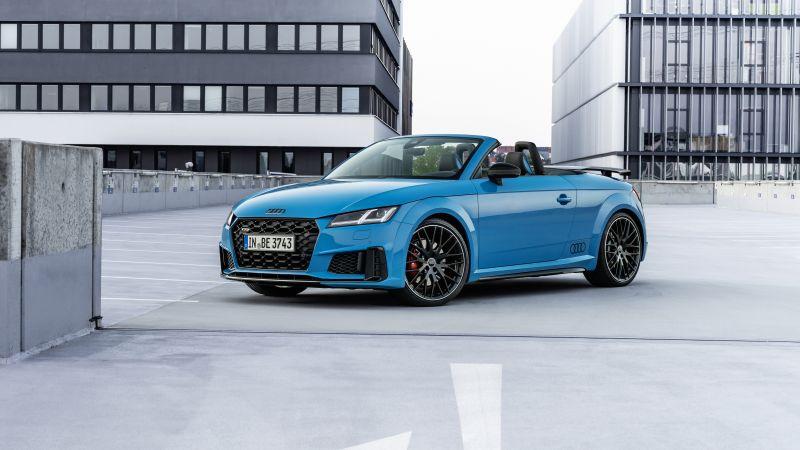 Audi TTS competition plus Roadster, 2021, 5K, 8K, Wallpaper