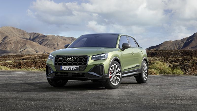 Audi SQ2, 2021, 5K, Wallpaper