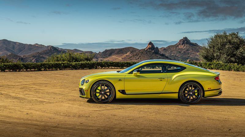 Bentley Continental GT Pikes Peak, 2021, Wallpaper