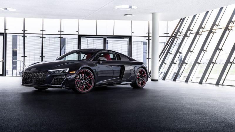 Audi R8 RWD Panther Edition, 2021, 5K, 8K, Wallpaper