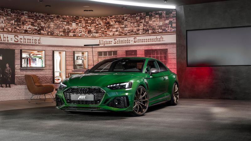 ABT Audi RS 5 Coupé, 2021, Wallpaper