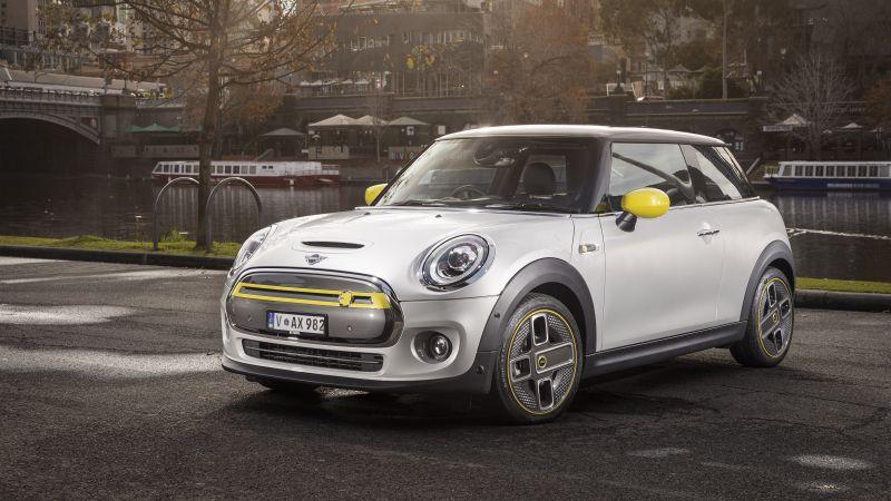 MINI Cooper SE, Electric cars, 2021, 5K, Wallpaper