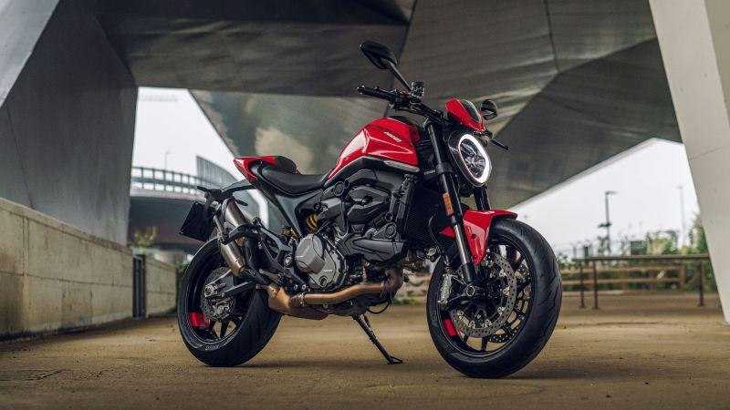 Ducati Monster, 2021, 5K, Wallpaper