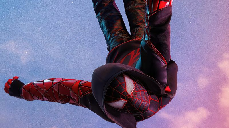 Marvel's Spider-Man: Miles Morales, Photo mode, PlayStation 5, 2020 Games, 5K, Wallpaper