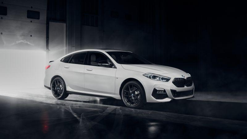 BMW 220d Gran Coupé M Sport, Black Edition, BMW 2 Series, 2021, 5K, Wallpaper