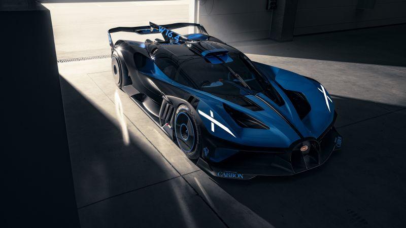 Bugatti Bolide, Hypercars, Concept cars, Track cars, 5K, 8K, 2020, Wallpaper