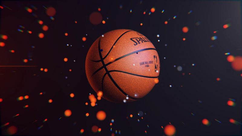 Basketball, Do it now, 3D background, Wallpaper