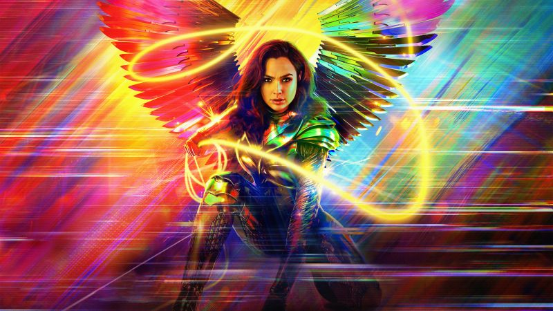 Wonder Woman 1984, Gal Gadot, 2020 Movies, 5K, Wallpaper