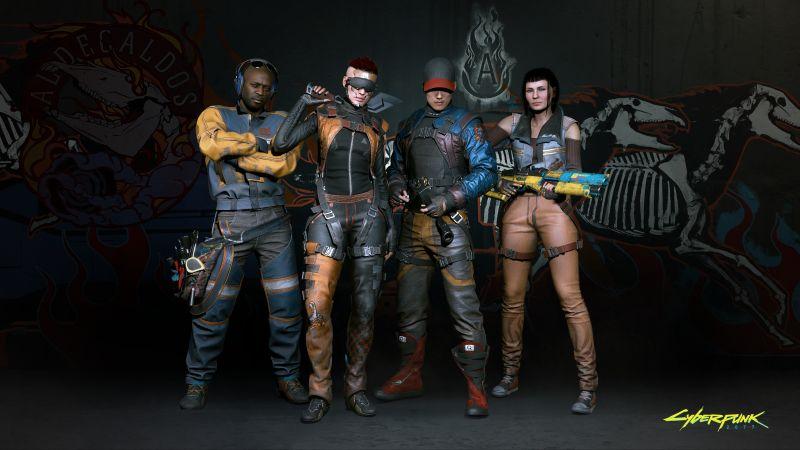 Cyberpunk 2077, Gangs, Aldecaldos, 2020 Games, Wallpaper