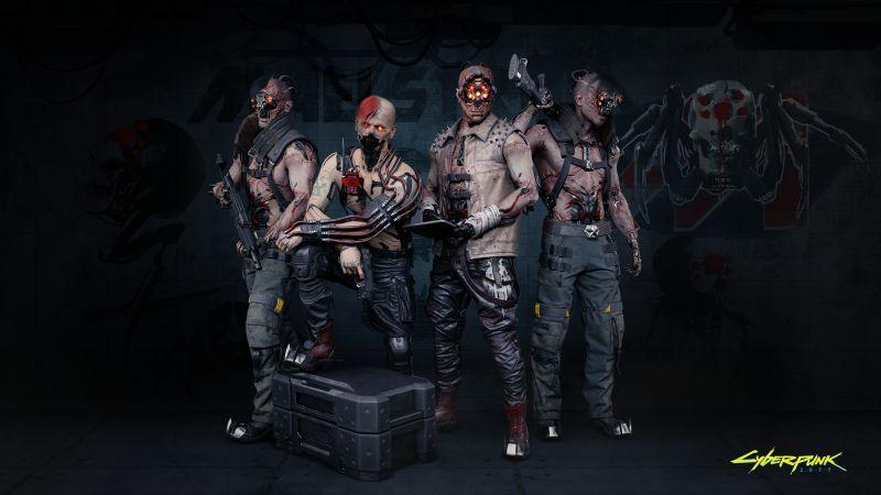 Cyberpunk 2077, Maelstrom, Night City, Gangs, 2020 Games, Wallpaper