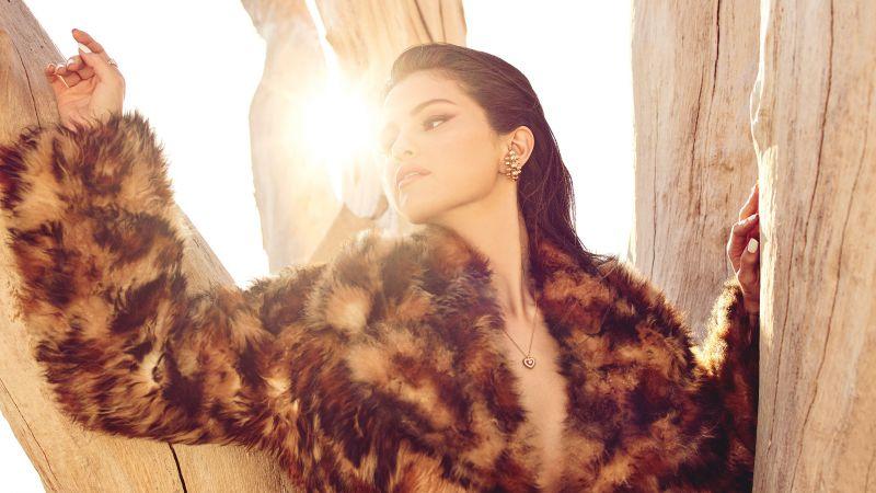 Selena Gomez, Photoshoot, 2020, Vogue Mexico, Magazine cover, Cover shoot, Wallpaper