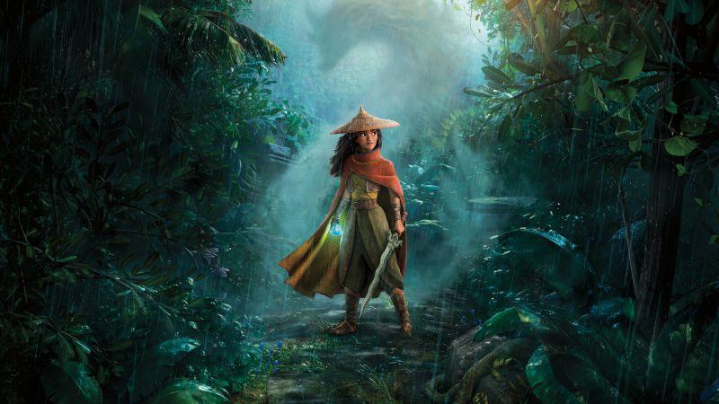 Raya and the Last Dragon, Animation, Adventure, 2021 Movies, Wallpaper