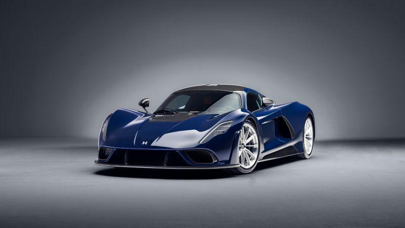 Hennessey Venom F5, Sports cars, 2021, 5K, Wallpaper