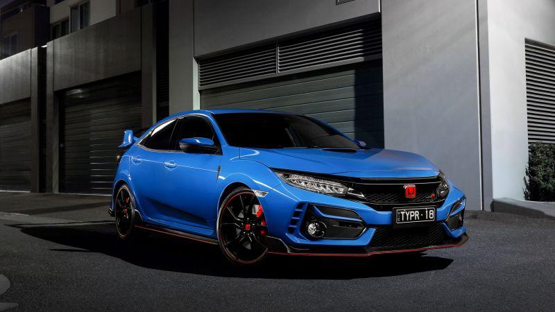 Honda Civic Type R, 2021, 5K, Wallpaper