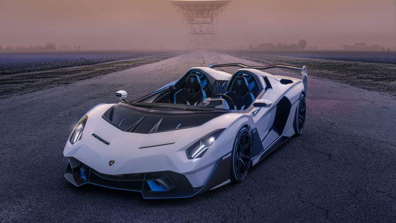 Lamborghini SC20, 2021, 5K, Wallpaper
