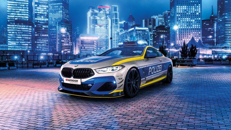 BMW AC Schnitzer ACS8, Polizei Tune it! Safe! Concept, 5K, 2021, Wallpaper