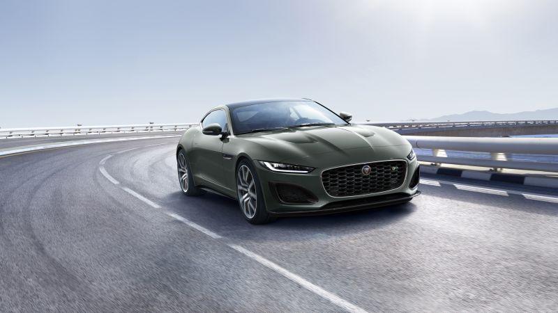 Jaguar F-Type R Heritage 60 Edition, 2021, 5K, Wallpaper