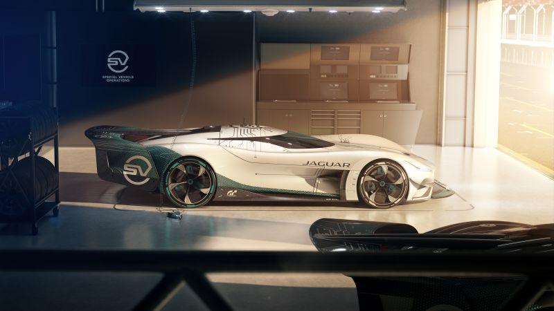 Jaguar Vision Gran Turismo SV, Hypercars, Concept cars, 2021, 5K, 8K, Wallpaper