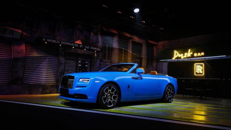 Rolls-Royce Cullinan Black Badge, 2021, 5K, Wallpaper
