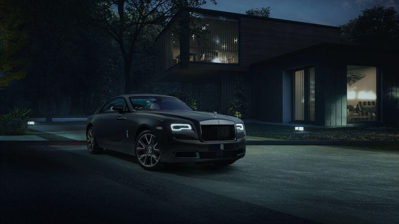 Rolls-Royce Wraith Kryptos Collection, 2021, Wallpaper
