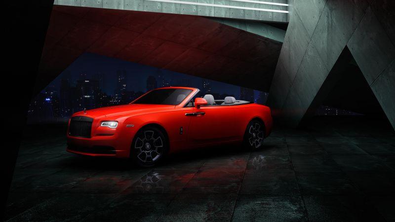 Rolls-Royce Dawn Black Badge, 5K, 8K, Wallpaper
