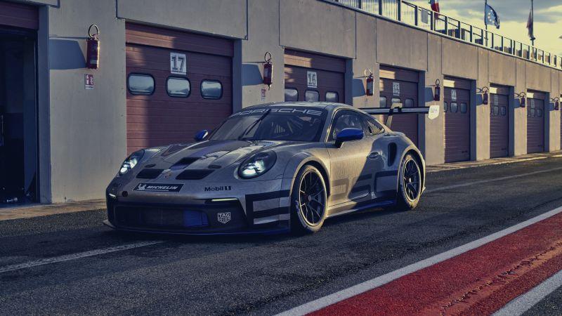 Porsche 911 GT3 Cup, 2021, Wallpaper