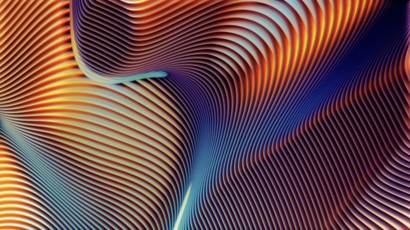 macOS Mojave, Abstract background, Multicolor, MacBook Pro, iMac, Stock, 5K, Wallpaper