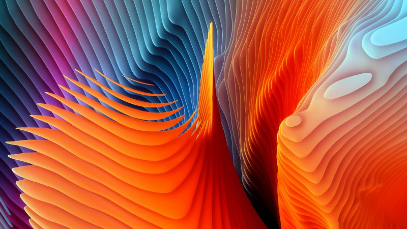 Colorful background, Abstract background, macOS Sierra, Stock, 5K, Wallpaper