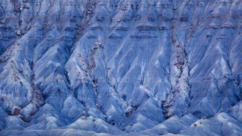 OS X Mavericks, Death Valley, Snow mountains, Stock, 5K, Wallpaper