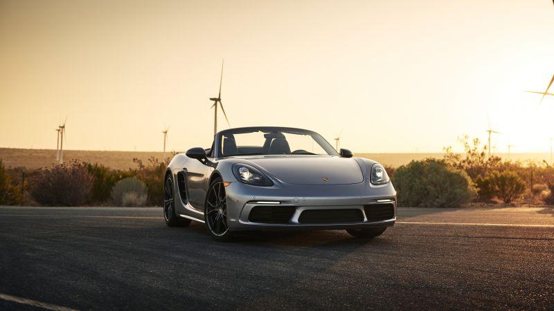 Porsche 718 Boxster T, 2021, 5K, Wallpaper