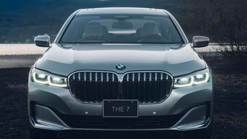 BMW 750Li xDrive Pure Metal Edition, BMW 7 Series, 2021, 5K, 8K, Wallpaper