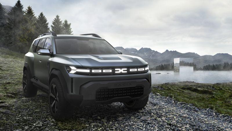 Dacia Bigster Concept, 2021, 5K, Wallpaper