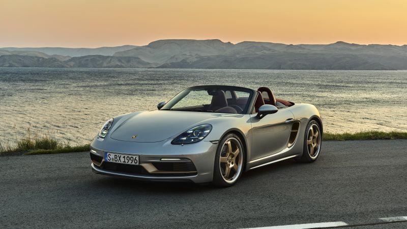 Porsche Boxster 25 Jahre, 2021, 5K, Wallpaper