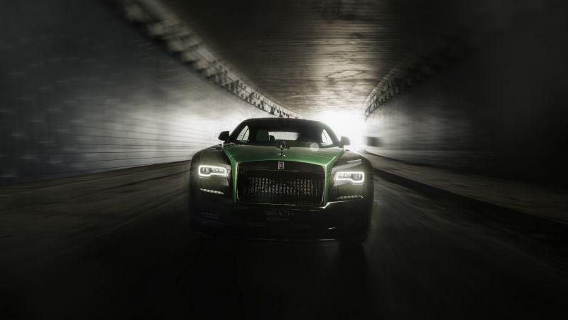 Rolls-Royce Wraith Black Badge, Sportive Collection, 2021, 5K, 8K, Wallpaper