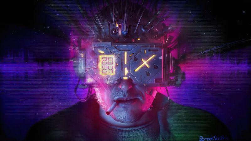 Neuromancer, Artwork, Sci-Fi, Concept art, Wallpaper