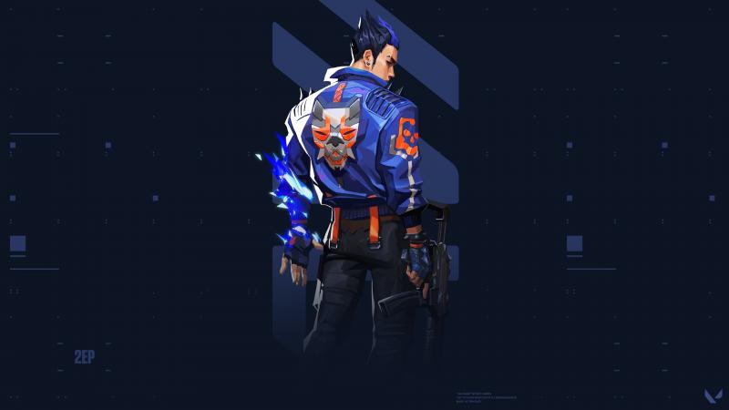 Yoru, Valorant, Stealth agent, PC Games, Dark background, Wallpaper
