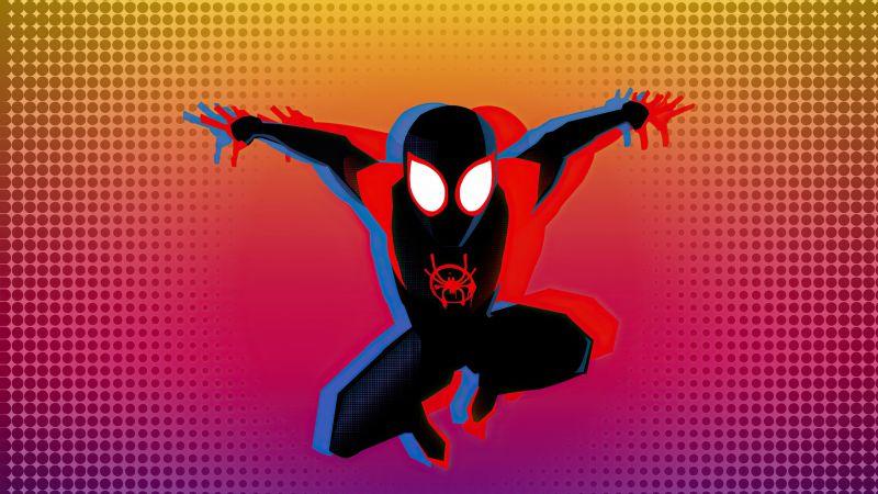 Miles Morales, Spider-Man, Marvel Comics, Marvel Superheroes, Wallpaper