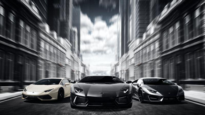 Lamborghini Cars, Sports cars, Luxury cars, Automobile, Speed, 5K, Wallpaper