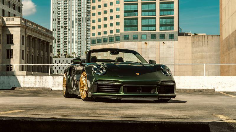 Porsche 911 Turbo S, 5K, Wallpaper