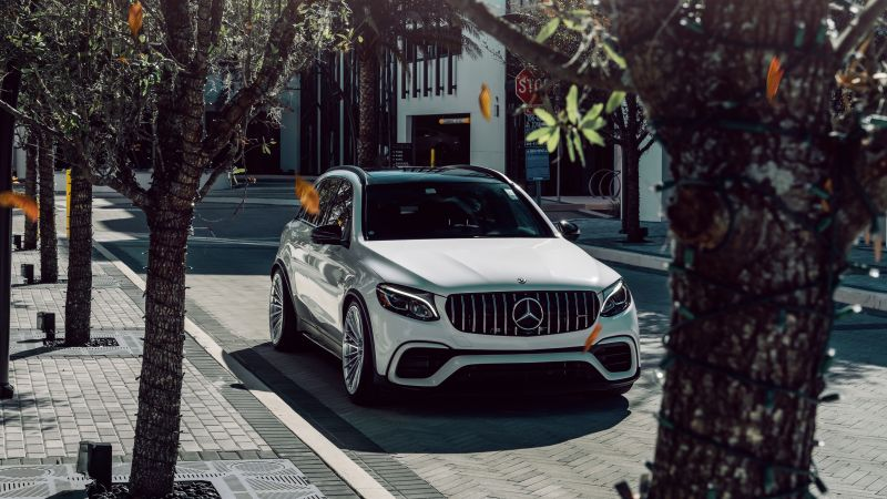 Mercedes-Benz AMG GLE 63 S, White cars, 5K, Wallpaper