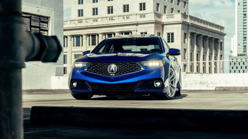 Acura TLX, Premium cars, Sports sedan, 5K, Wallpaper