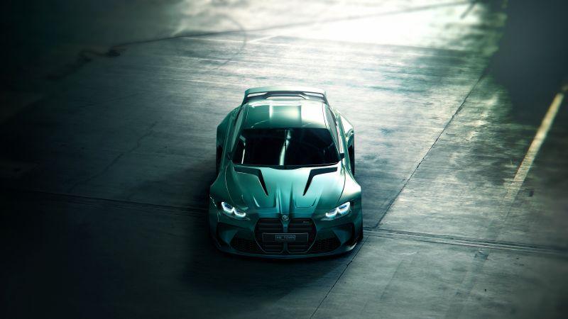 BMW Vision Gran Turismo, Concept cars, CGI, Wallpaper